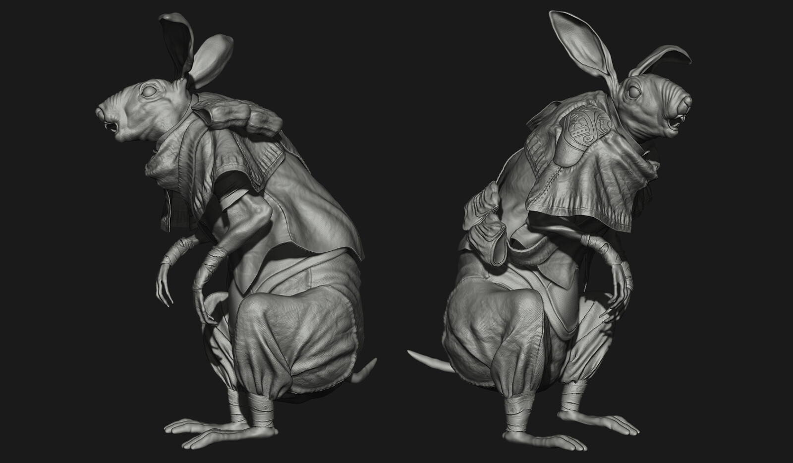 Sculpture from Zbrush