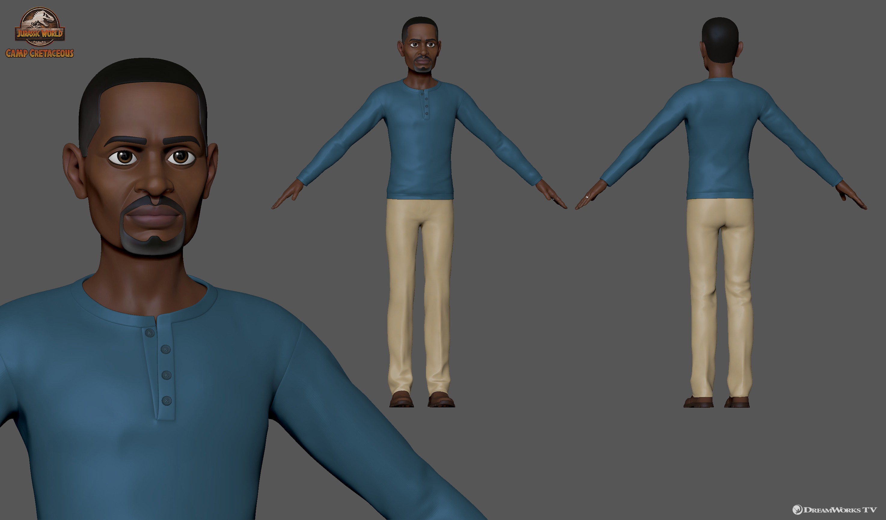 Darius' Dad - Responsible for facial and body sculpting in collaboration with the DWTV modeling team and outsource supervision.