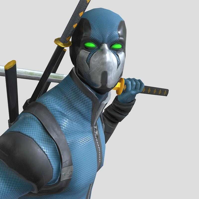 Stylized Male Character - Game-ready - Kazumi