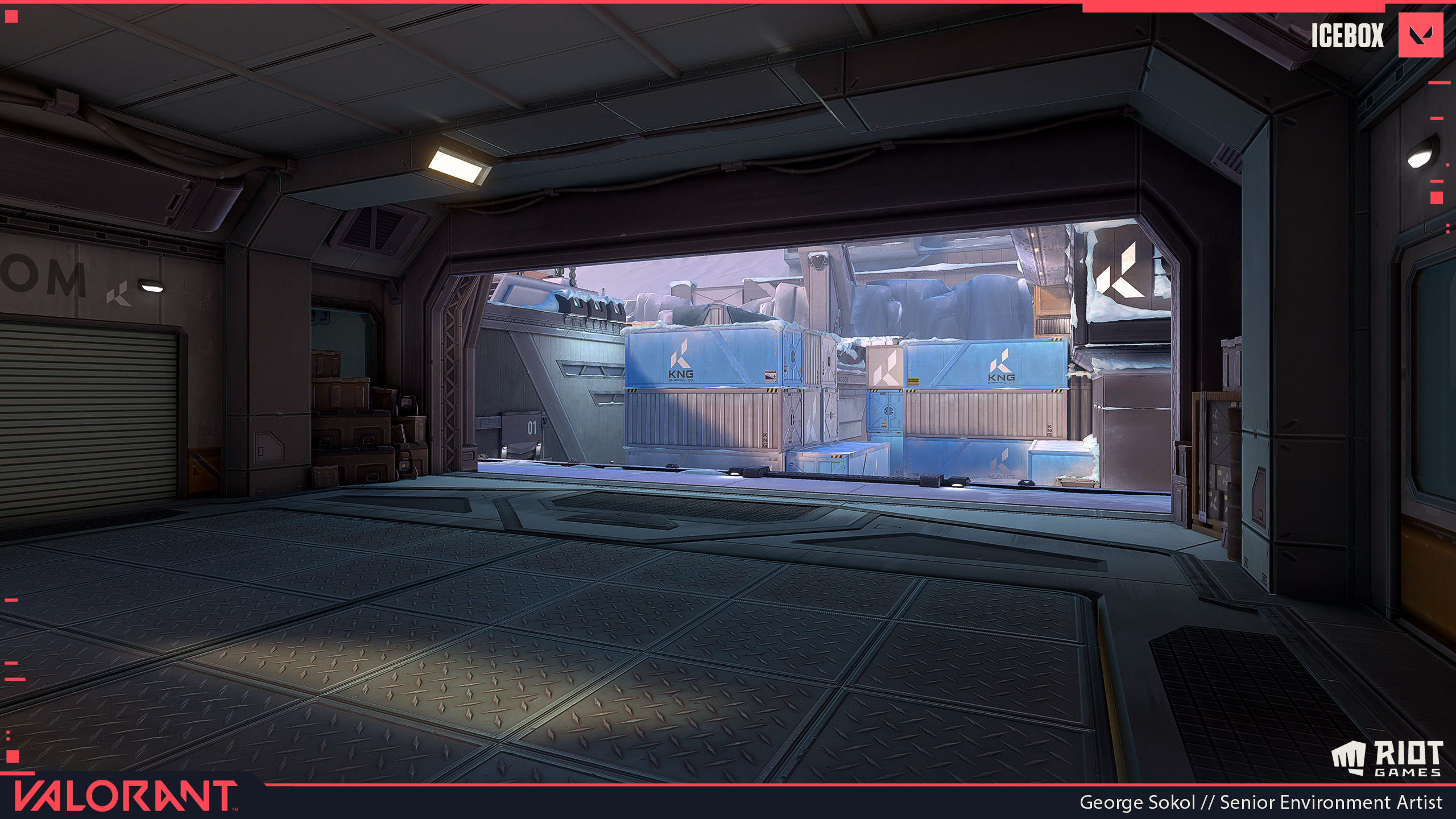 Attacker Spawn Ship interior.