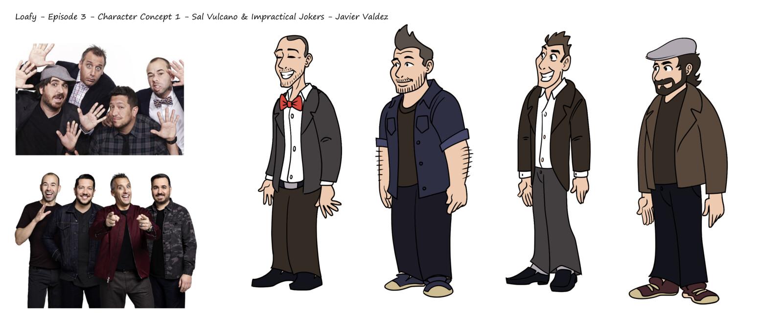Joe Gatto, James Murray, Sal Vulcano, Brian Quinn, voiced by themselves