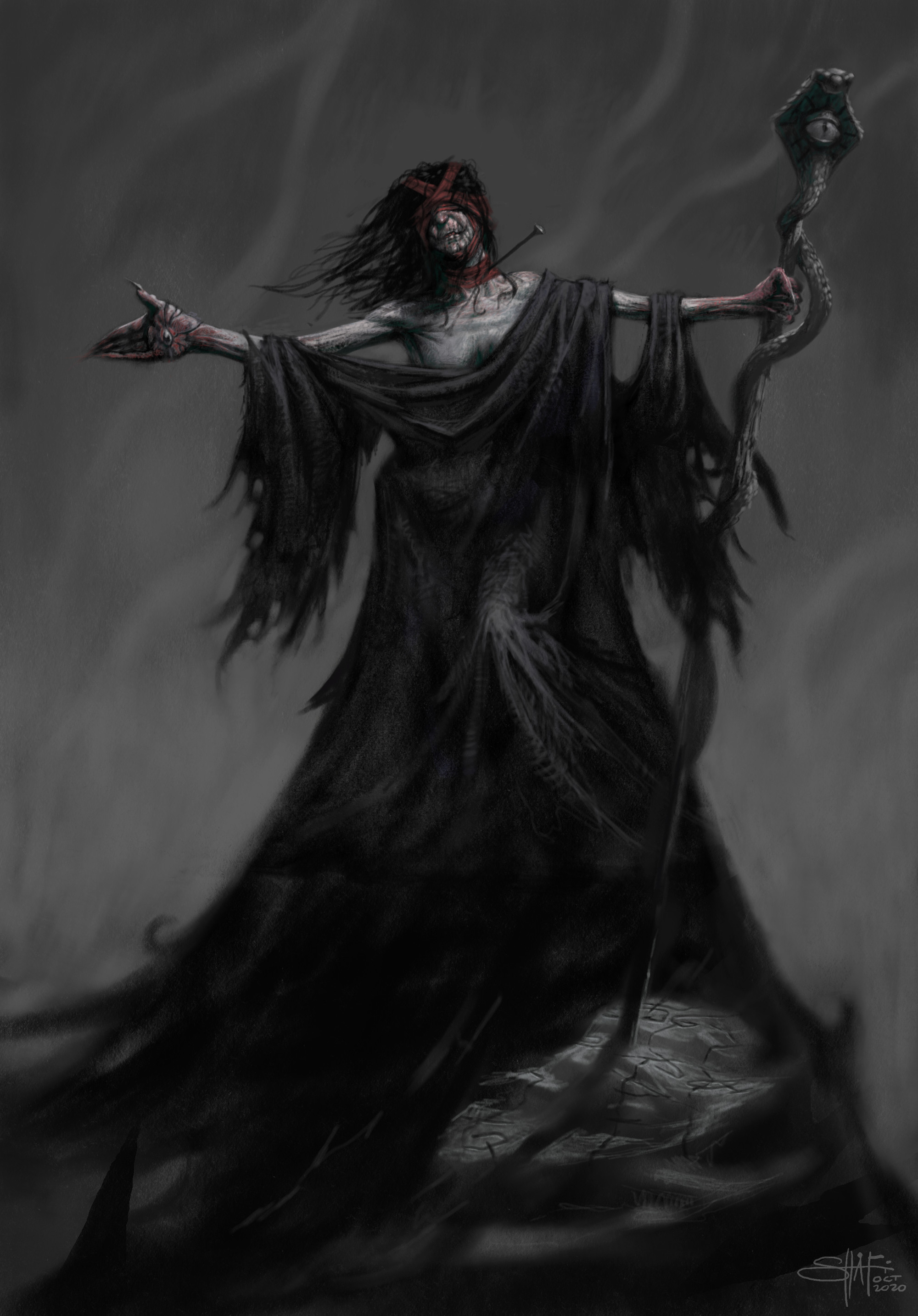 The Snake-eyed Witch