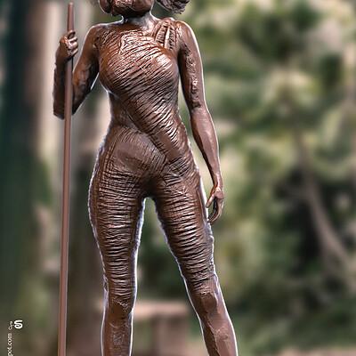 Surajit sen octon digital sculpture surajitsen oct2020ab l