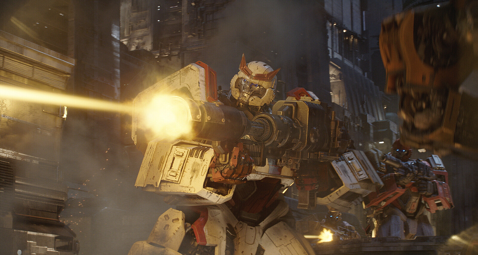 Final movie frame (Ironhide can be seen in the back)