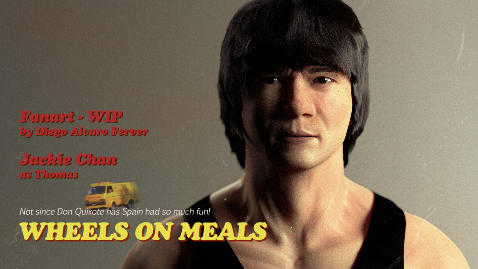 Jackie Chan - Wheels on Meals - 1984