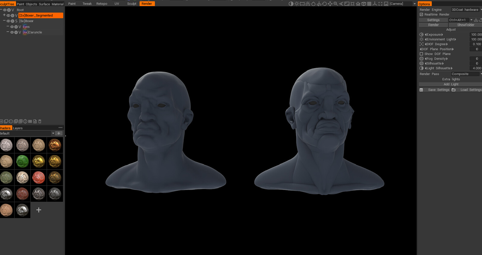 3D Coat test render