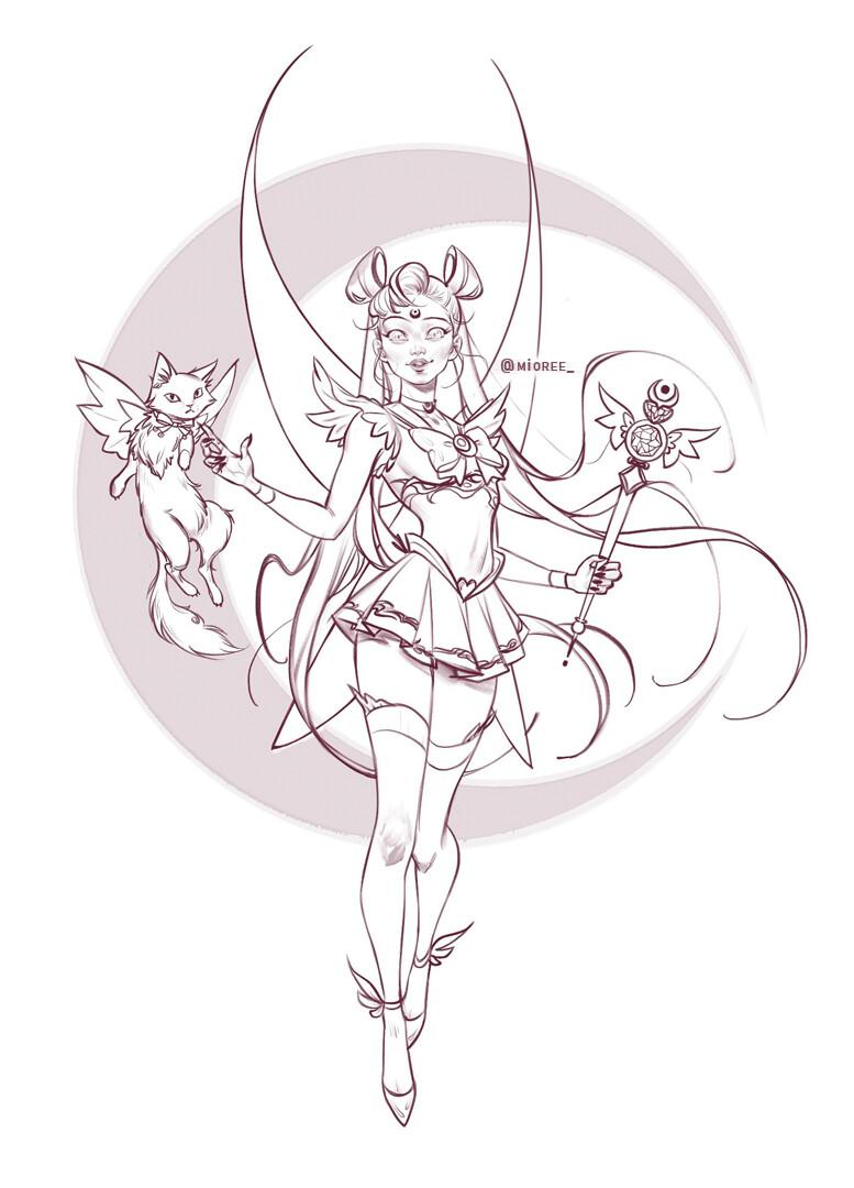 Sailor Best Girl Sketch