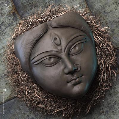 Surajit sen devi dugra digital sculpture surajitsen oct2020a l