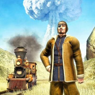 Luca oleastri atomic steampunk