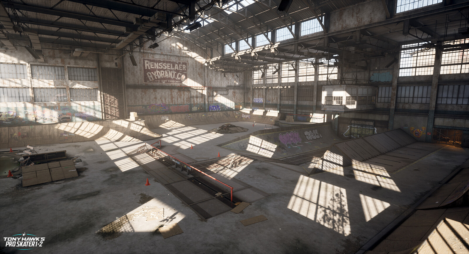 THPS 1+2 Warehouse
