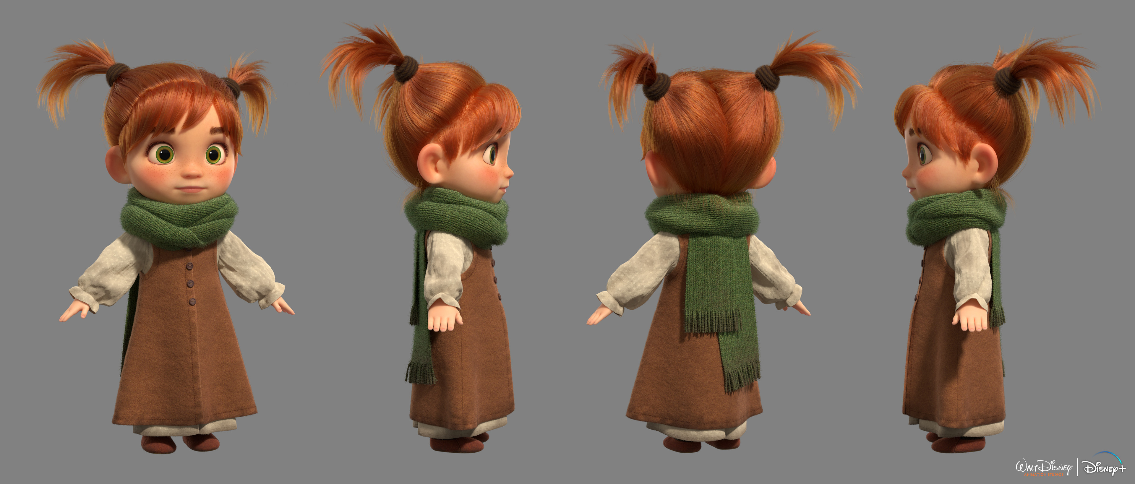 Violet Look Dev Renders