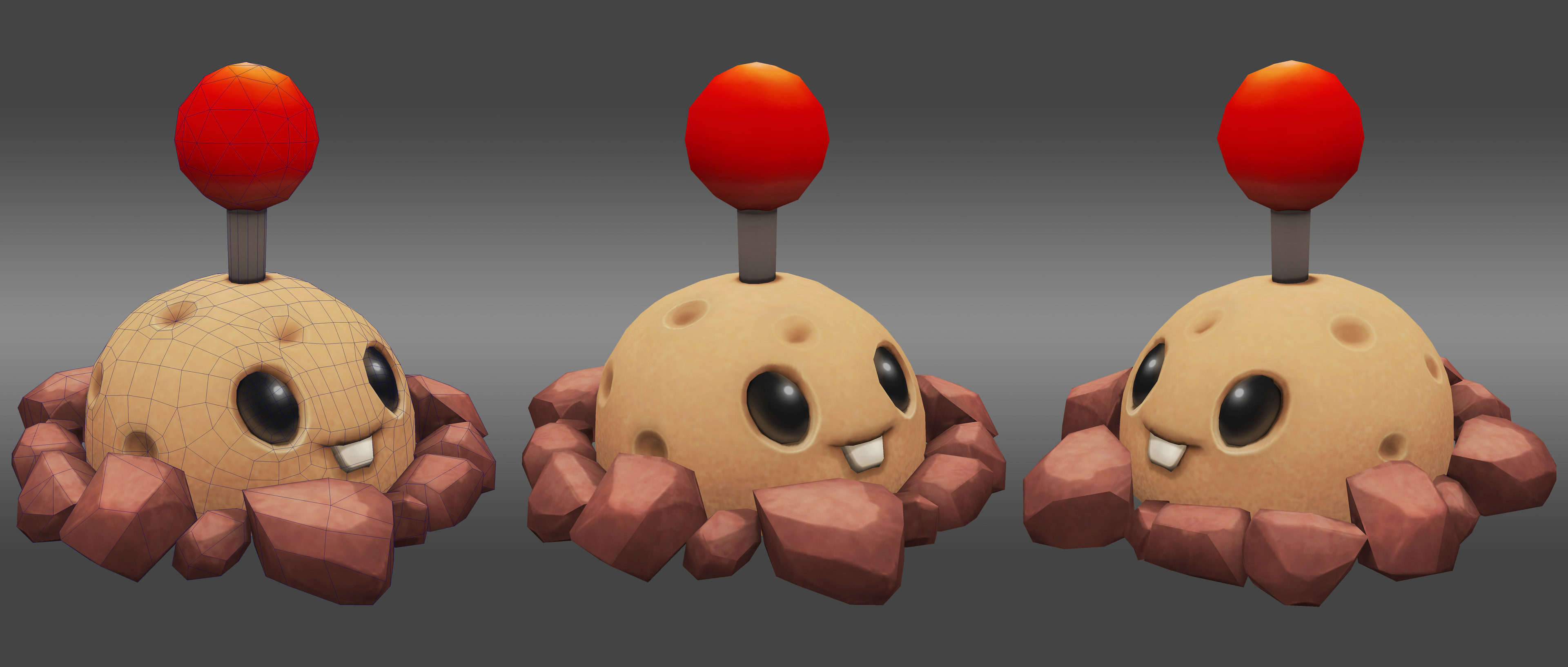 Potato Mine: Game asset