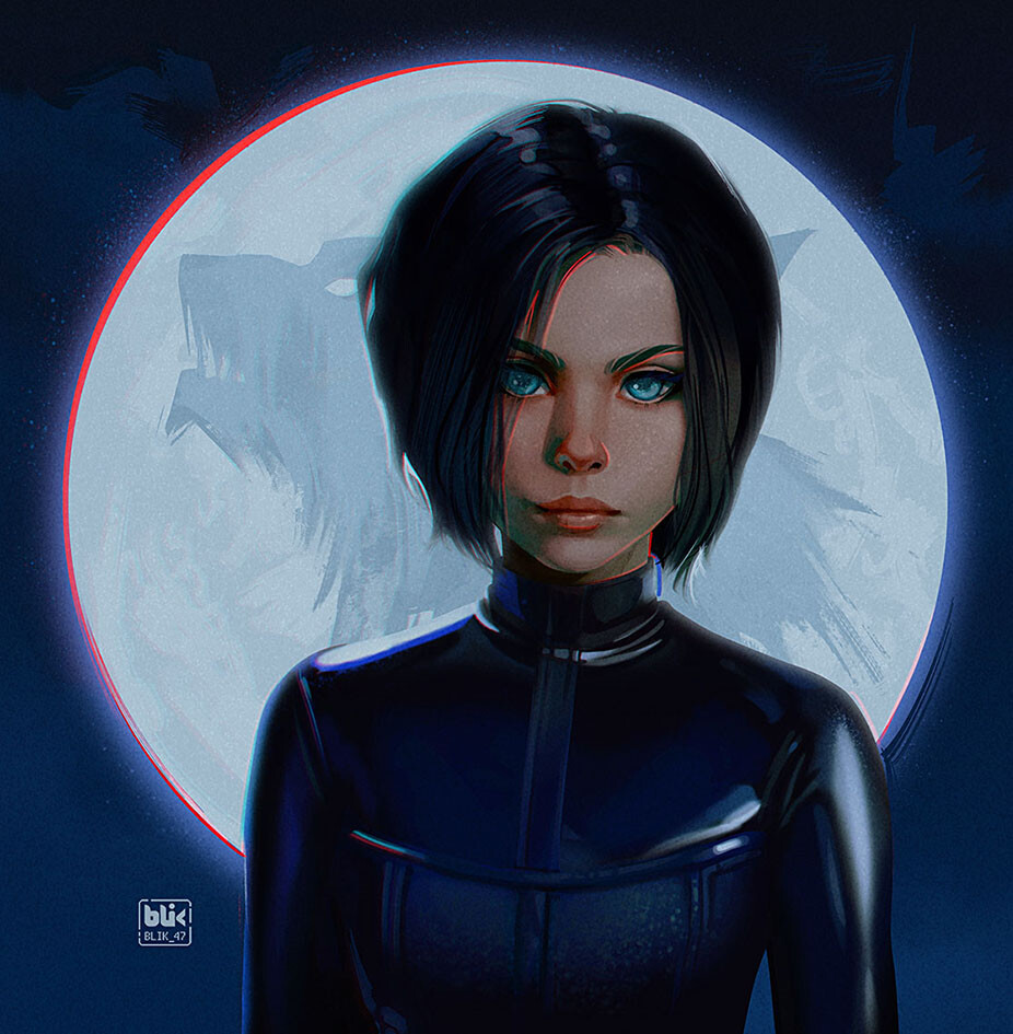 Selene from Underworld my digital fanart