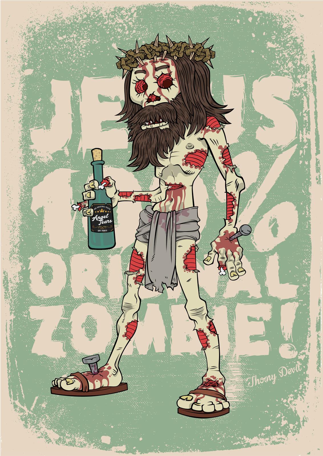 100% Original Zombie poster