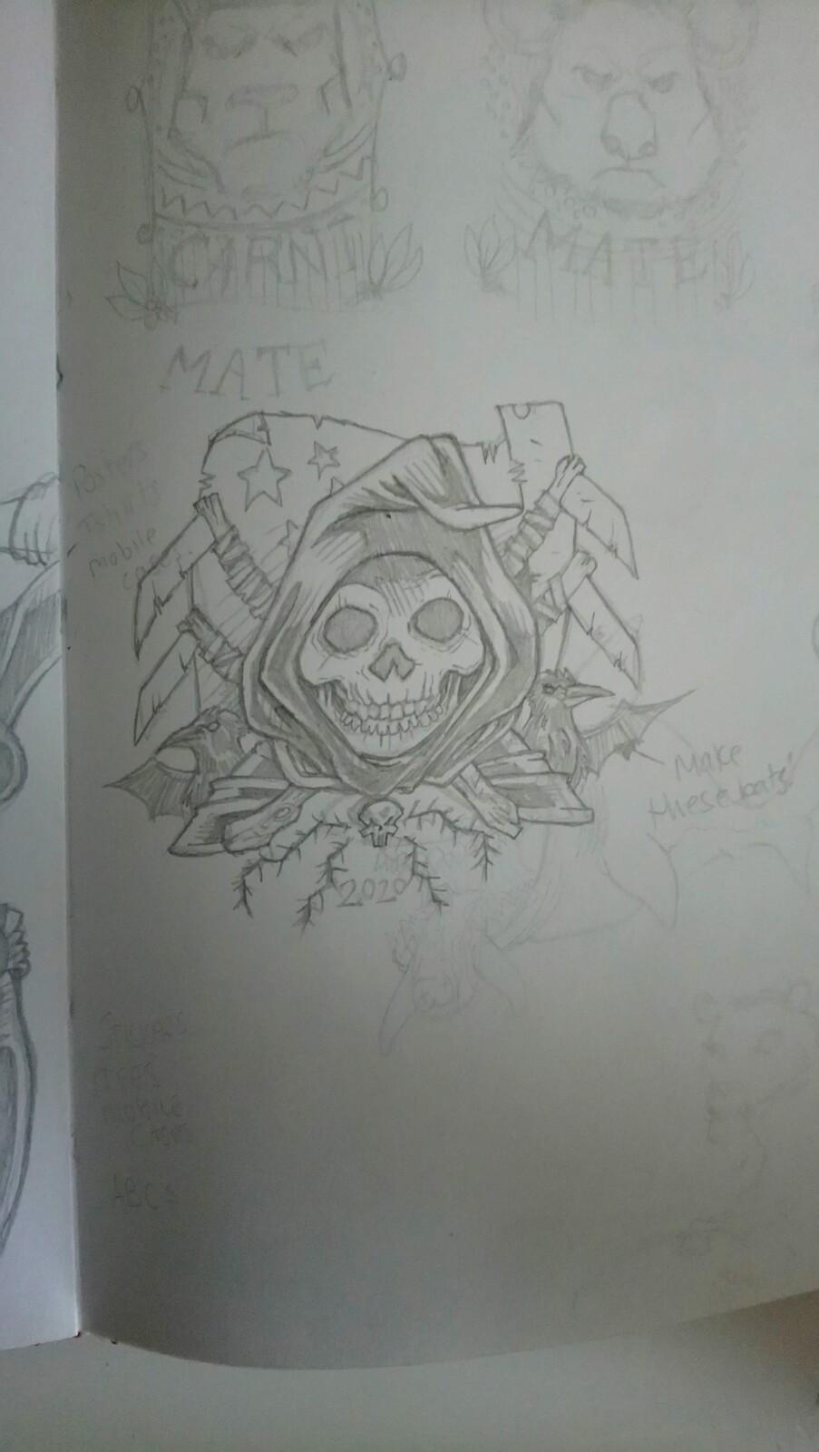 Initial sketch - doodle