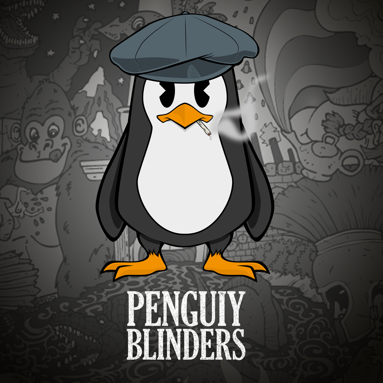 Penguiy Blinders - Peaky Blinders TV