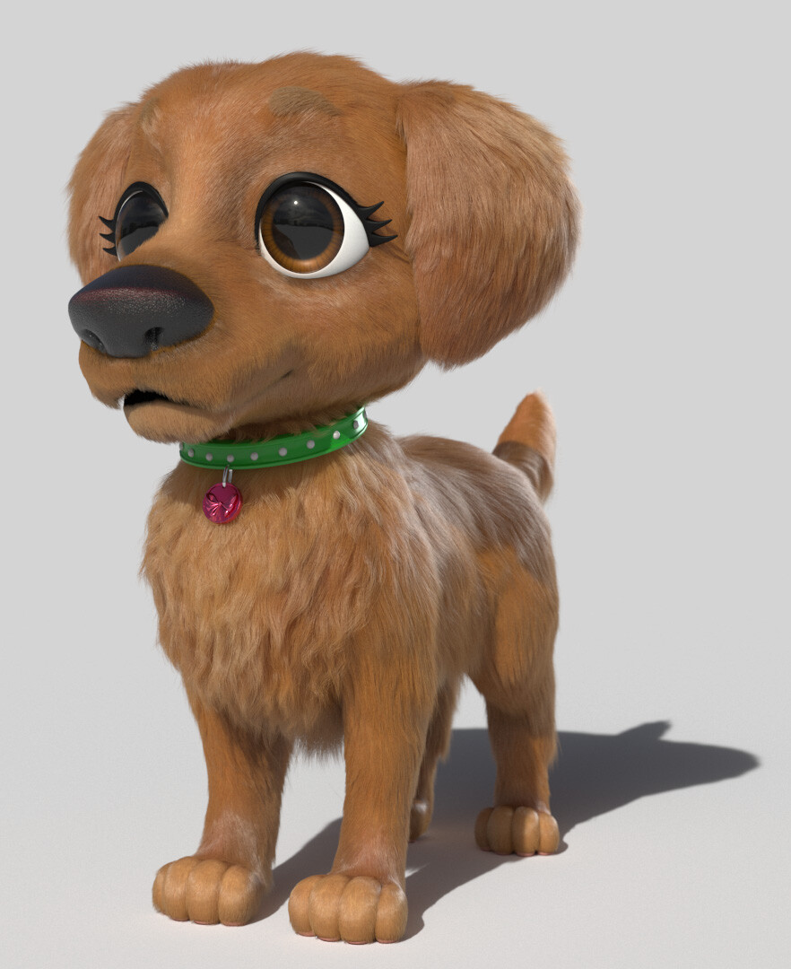 Grooming/Lookdev for Labrador (2018 - Shoguns Studios)