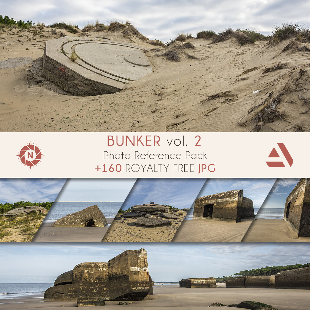 Photo Reference Pack: BUNKER volume 2  https://www.artstation.com/a/165923