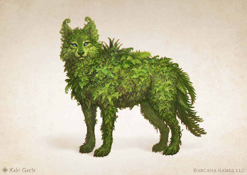 Fern wolf
