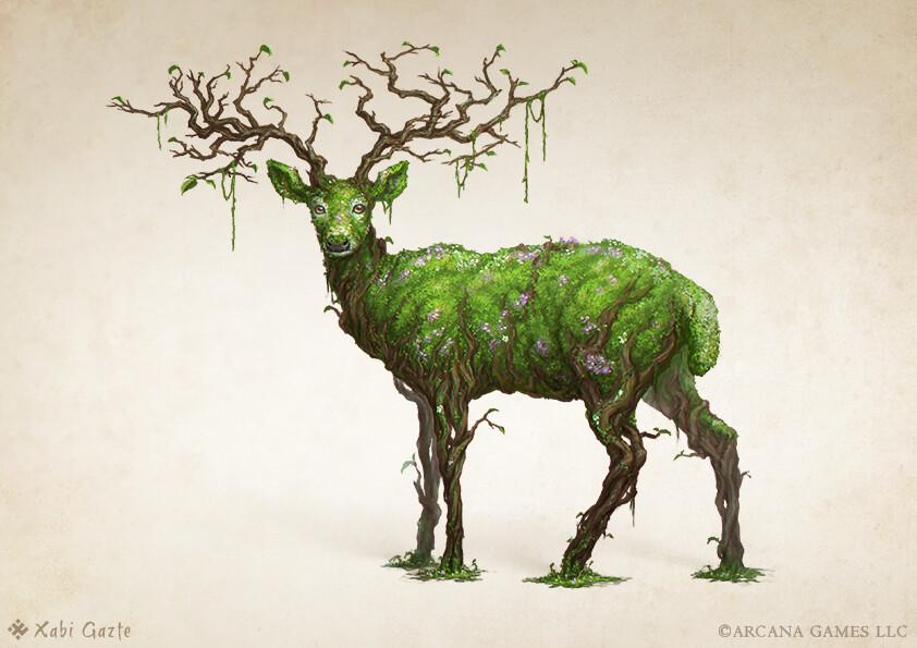 Moss fawn
