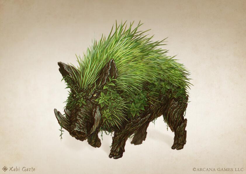 Nettle boar