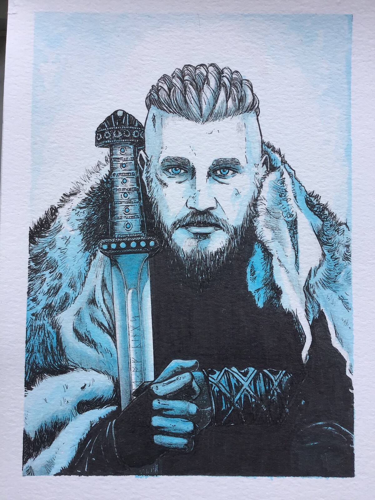 Ragnar Lothbrok - Sixfanarts