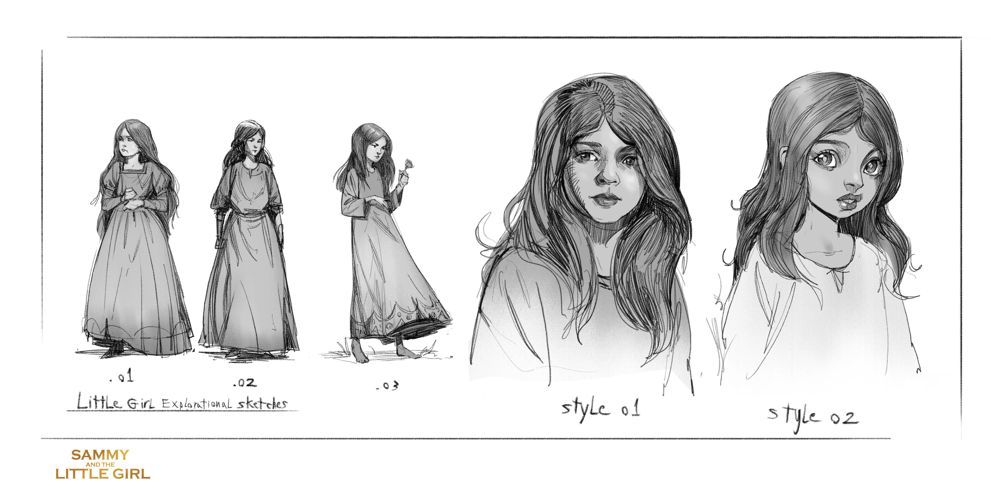 The Little Girl_ Explorations.