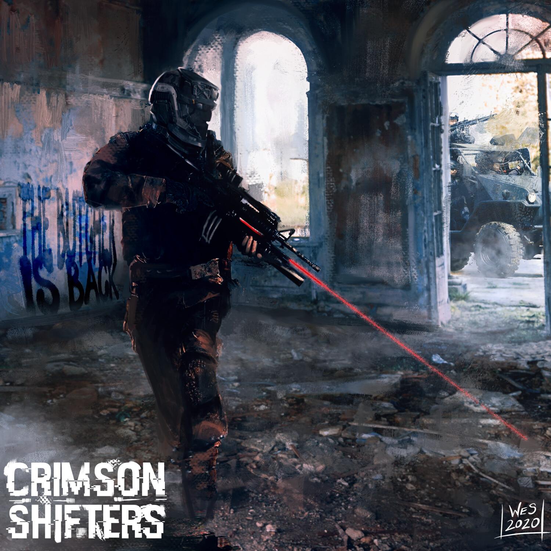 Urban Recon  (Crimson Shifters Development Art)