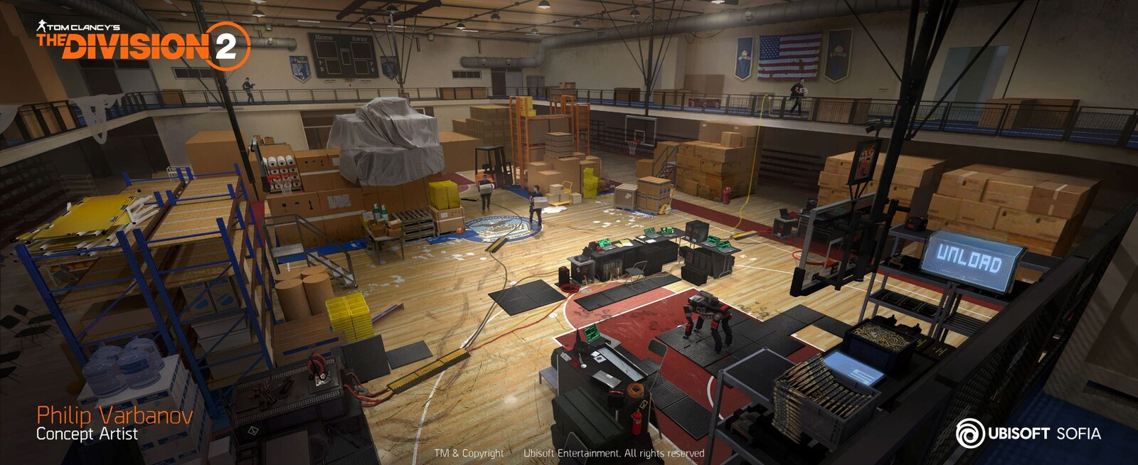 The Division 2 - Pentagon Gym