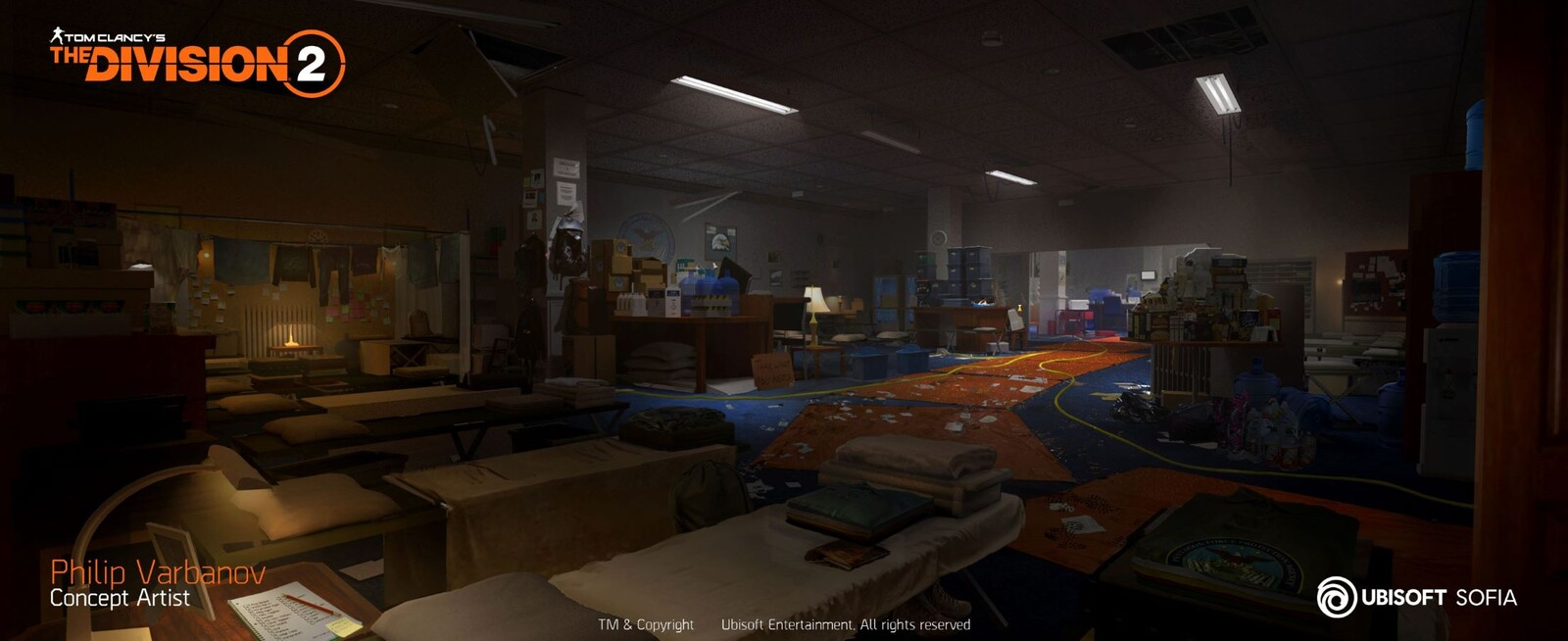The Division 2 - Pentagon Office