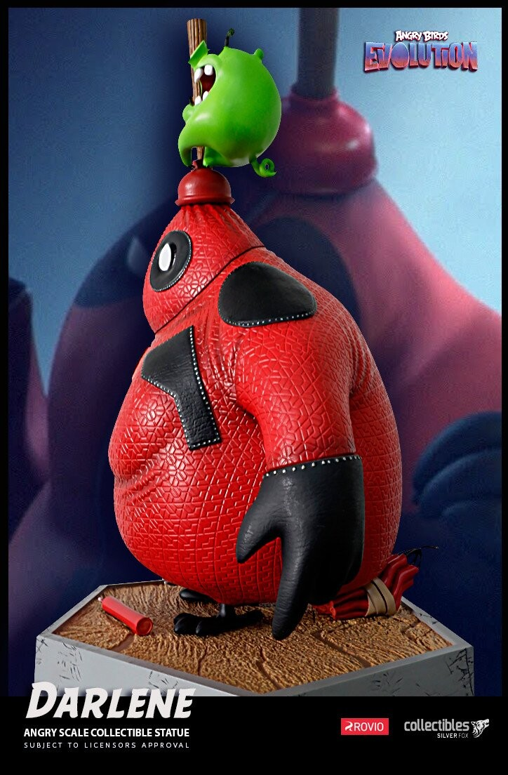 Darlene-Angry Birds Evolution-Rovio Entertainment-Designed by Yacine BRINIS-007-3D Printed and colored