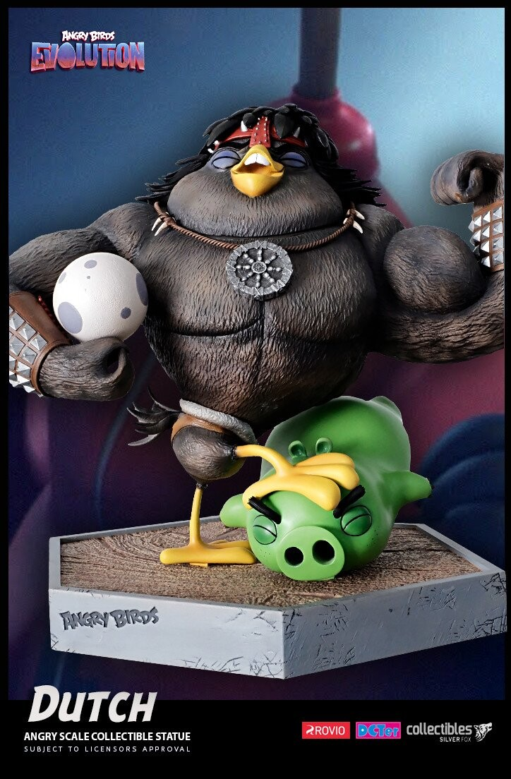 Dutch-Angry Birds Evolution-Rovio Entertainment-Designed by Yacine BRINIS-002-3D Printed and colored