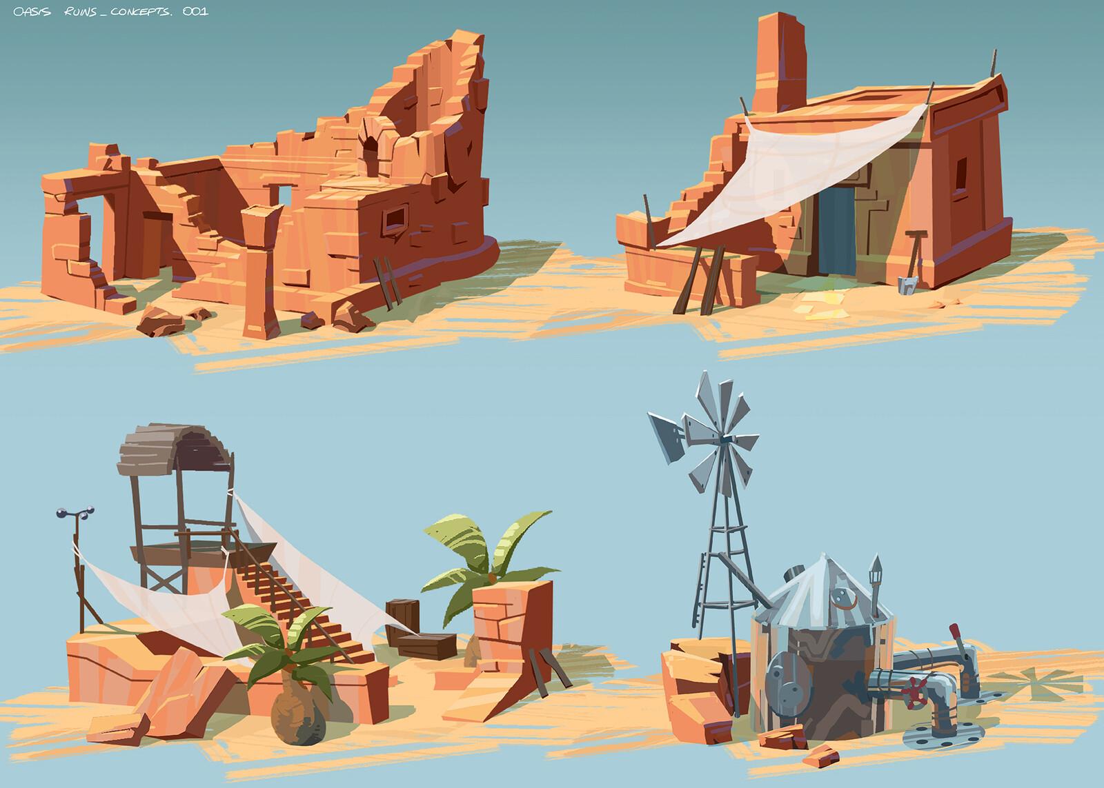 Desert callouts