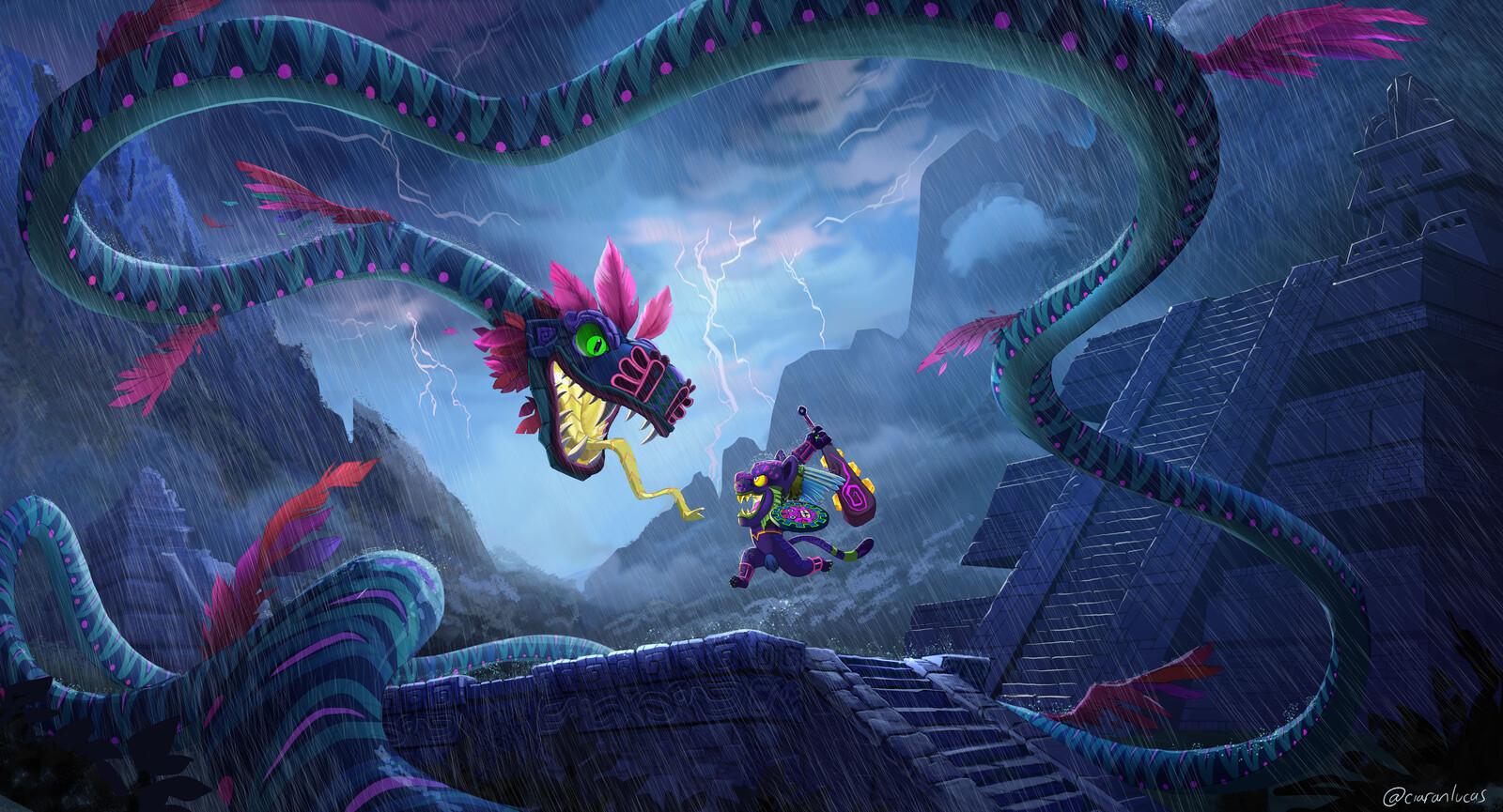 Quetzalcoatl Showdown