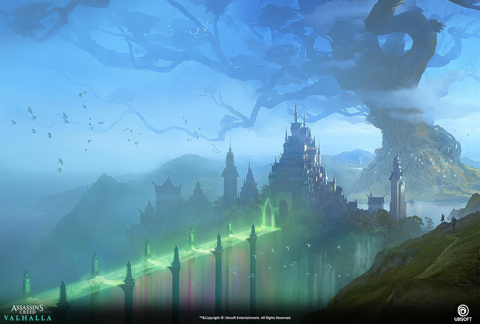 Asgard design, larger view.