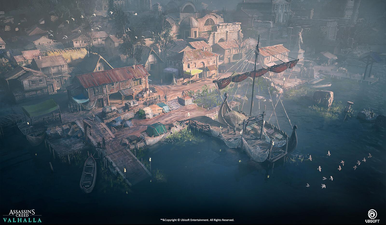 Port design.