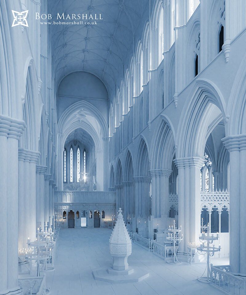 Digital Reconstruction of Glasgow Cathedral (c15th)