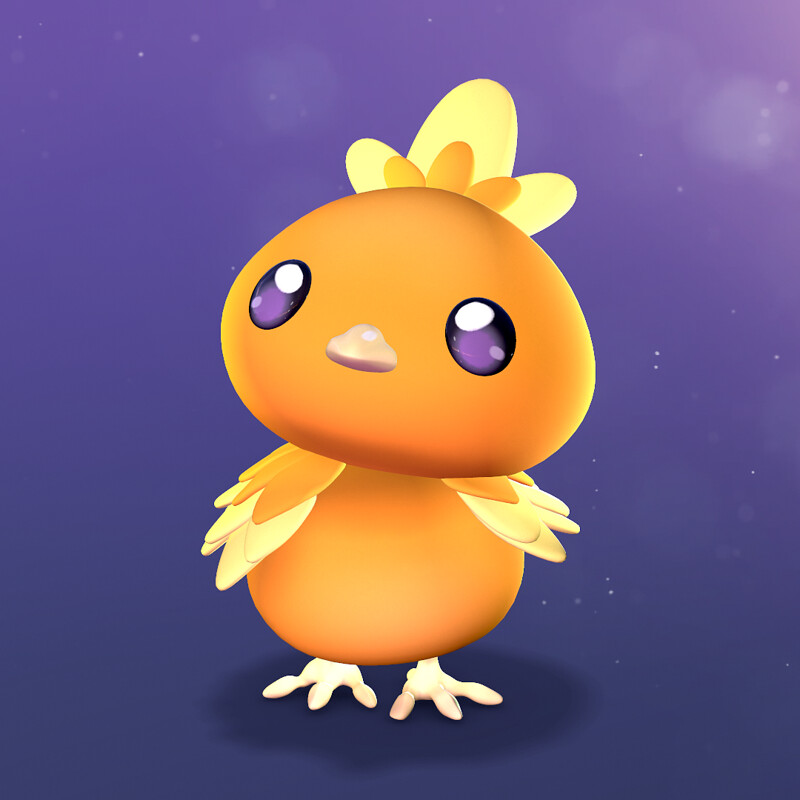 Sculptober 2020 - Wing | Torchic