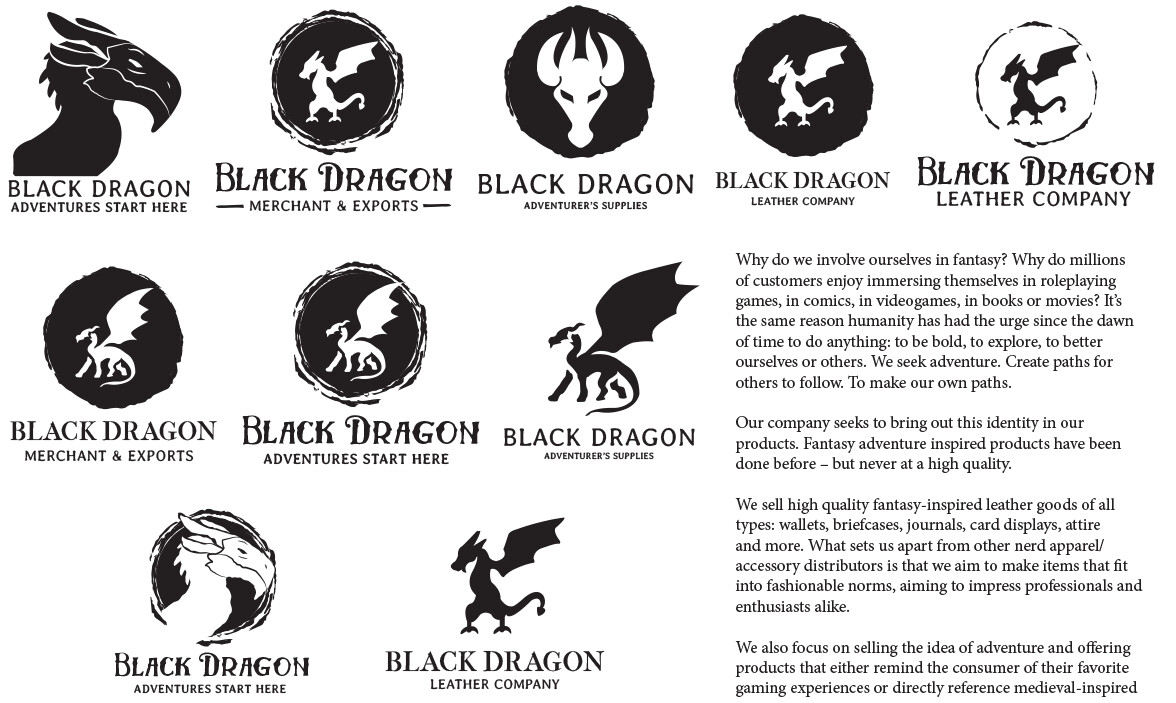 Artstation Black Dragon Merchant And Exports Brian Wagner