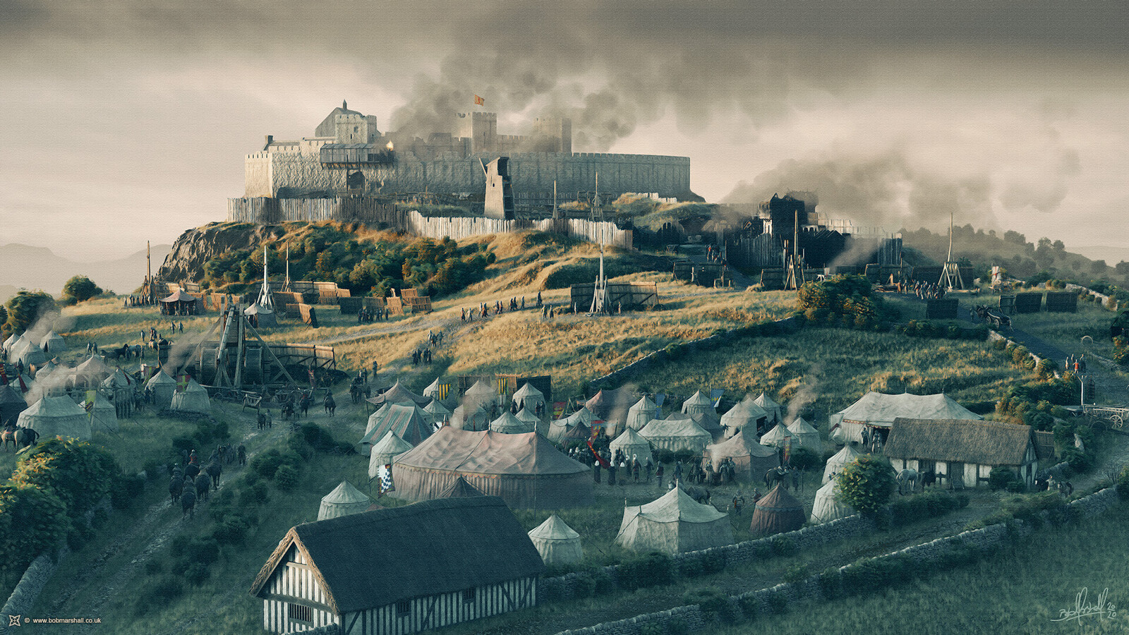 The Siege of Stirling Castle, 1304