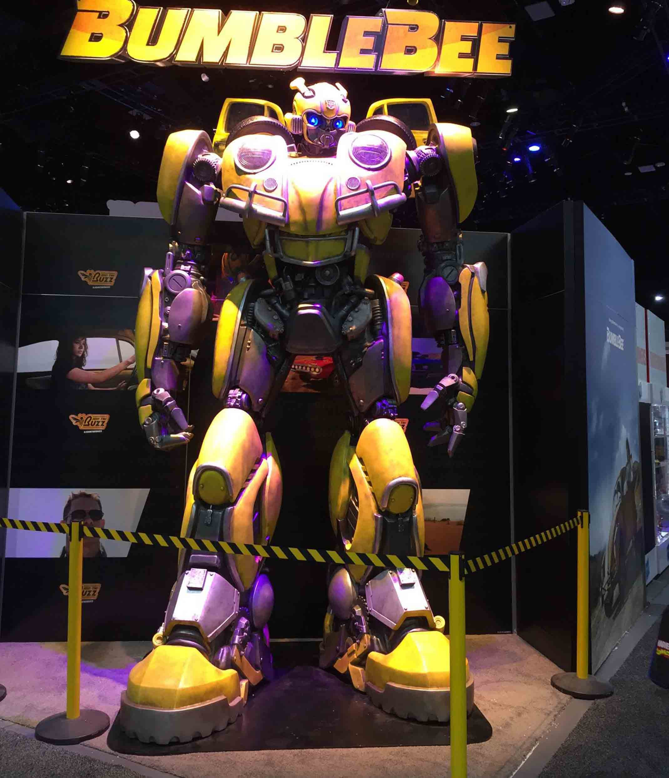 Bumblebee-Paramount Pictures-Designed by Yacine BRINIS-001-3D Printed an painted (pictures taken in San-Diego)