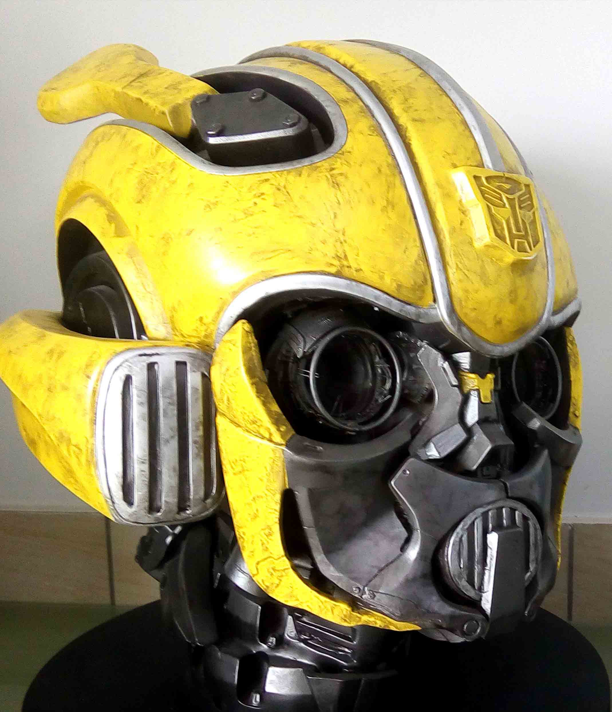 Bumblebee-Paramount Pictures-Designed by Yacine BRINIS-005-3D Printed an painted
