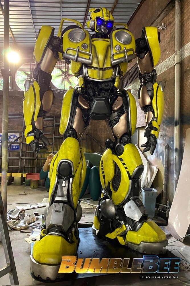 Bumblebee-Paramount Pictures-Designed by Yacine BRINIS-006-3D Printed an painted