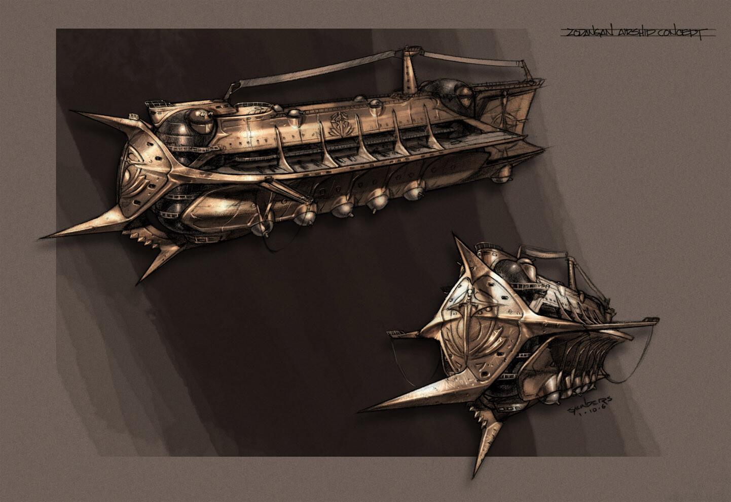 Zodangan airship.
