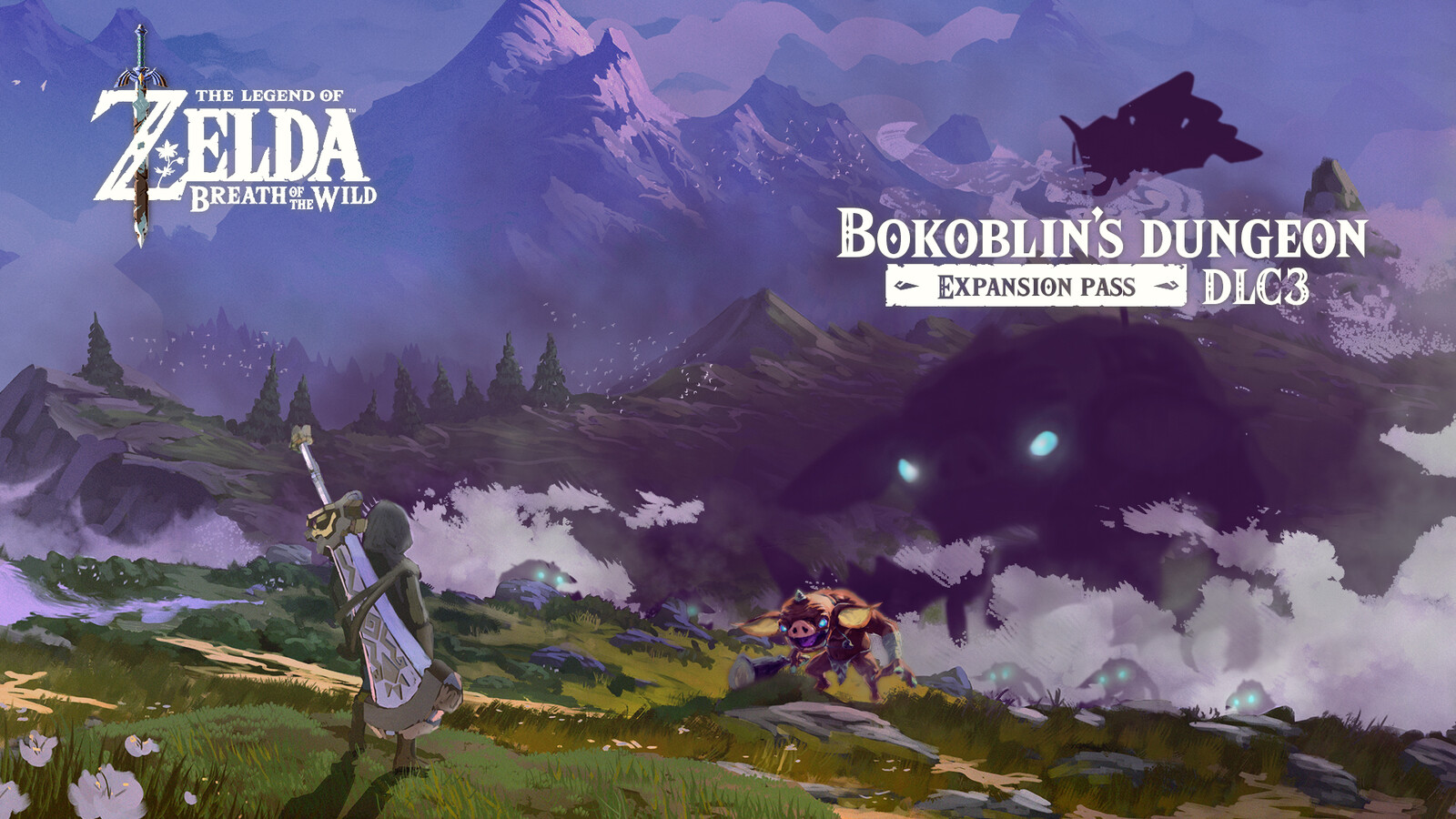 Key Art showcasing a mysterious and large bokoblin.