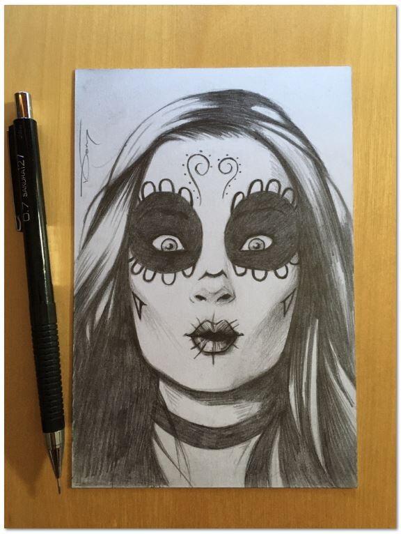 Original pencil sketch commission