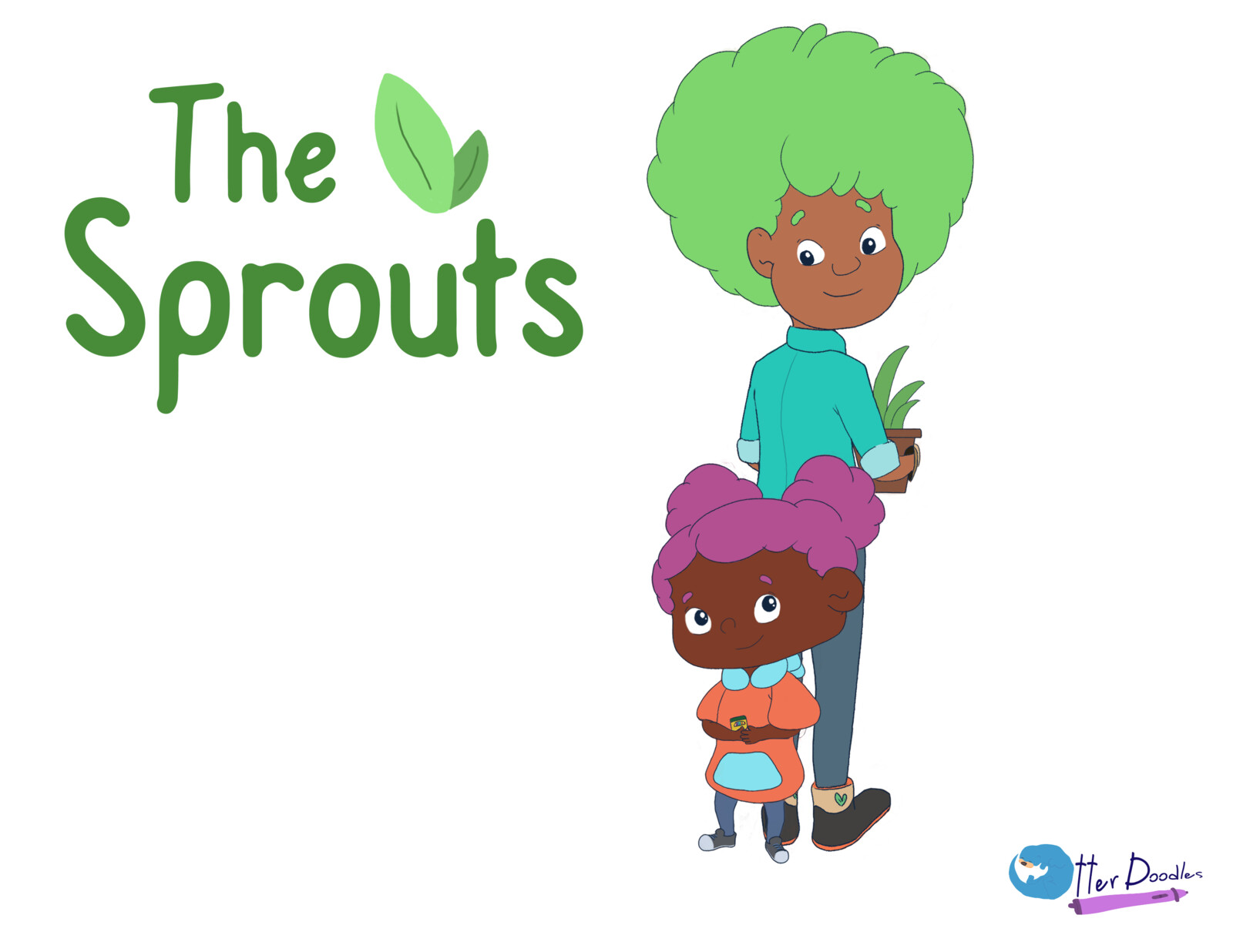 The Sprouts: Character Designs