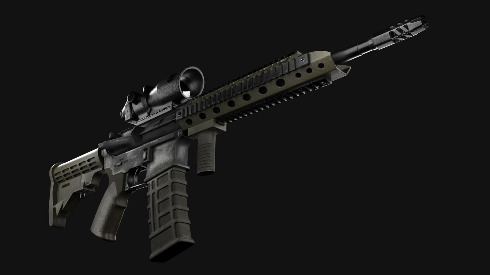 M4A1 Carbine Rifle