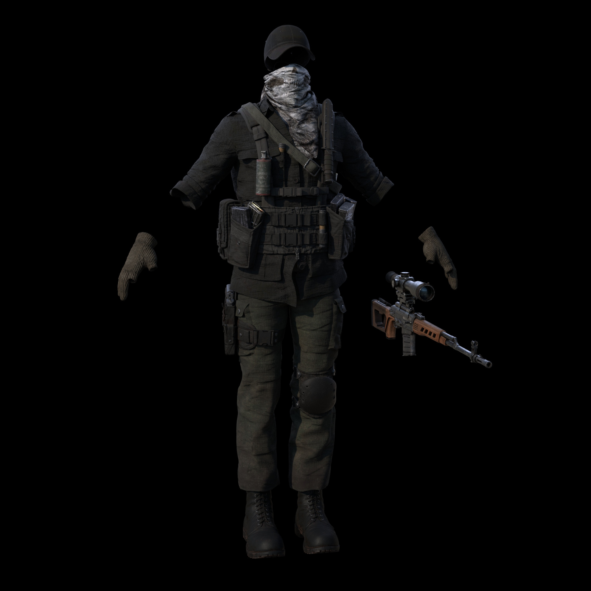 Mercenary Outfit