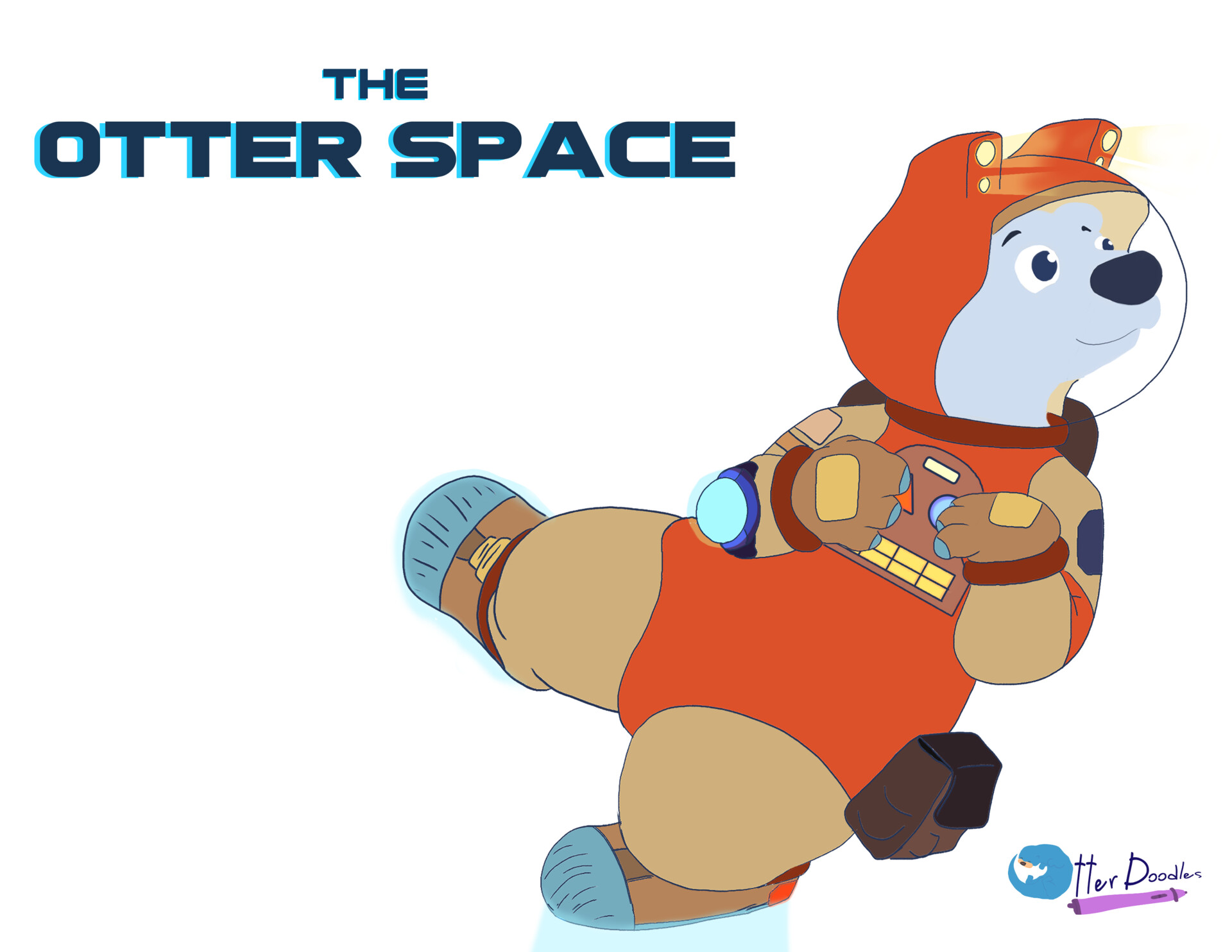 The Otter Space Character Designs